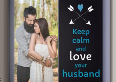 foto-obraz-40X40cm-Kochaj swojego męża