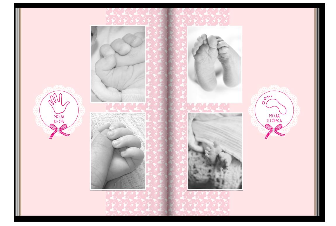 fotoksiążka-A4-różowe-maleństwo-02